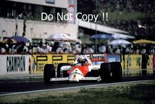 Alain Prost McLaren MP4/2C Hungarian Grand Prix 1986 Photograph 3