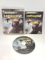Tom Clancy's H.A.W.X 2 (Sony PlayStation 3, 2010, Ubisoft) Complete CIB