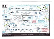 LPS Decals 1/144 DOUGLAS DC-4 SKYMASTER CRUZEIRO DO SUL Airlines