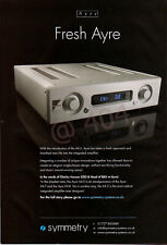 AYRE AX-5 Hi-Fi Audio System ADVERT - 2015 Advertisement - Ideal for Framing