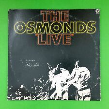 THE OSMONDS Live 2SE4826 Dbl LP Vinyl VG+ Cover VG+ GF