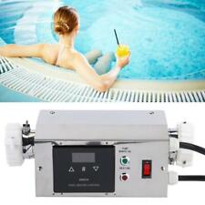 3KW Electric Water Heater Adjustable Thermostat for Swimming Pool SPA Hot Tub