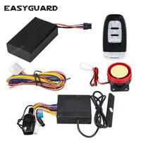 EASYGUARD motorcycle pke alarm remote start stop GPS tracker APP Android &IOS