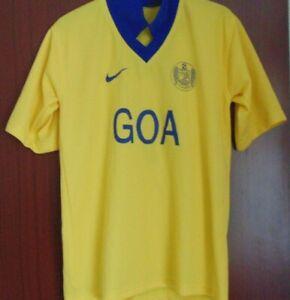Indian Football Club A.F. GOA Home Shirt Nike Size 36 NO 7 Yellow 2006-2007