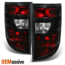 06-08 Honda Ridgeline Dark Red Tail Lights Brake Lamps Left + Right Replacement