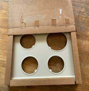 General Electric Stove Range Oven Top NIB WB62K5078 Almond NOS