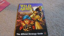 WILD ARMS - THE OFFICIAL STRATEGY GUIDE - SONY PLAYSTATION 1