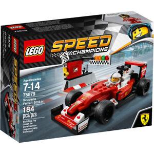 LEGO 75879 SPEED CHAMPIONS FERRARI SF16-H SEBASTIAN VETTEL RAIKKONEN RARE BNMIB