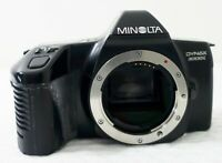Minolta Dynax 3000i SLR 35mm Film Camera Body, Working, Grip has perished PARTS!