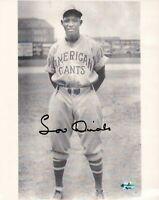 Lou Dials Signed 8X10 Photo Autograph Vintage American Giants Auto w/COA