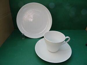 Rosenthal Romanze Weiß Kaffeegedeck 3 teilig