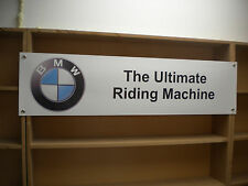 BMW Motorcycle banner Motorrad Ultimate Riding Machine Logo S1000R K1300S F800R