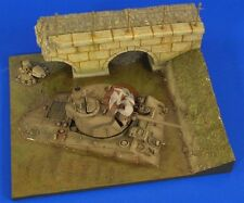 "Verlinden 1/35 ""Stuck!"" Diorama Base (sunken Sherman, Bridge & Embankment) 2469"