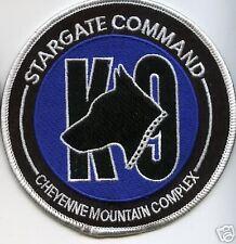 STARGATE TV SERIES SG-1 SGC-K9 CHEYNNE COMPLEX K9 PATCH