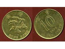 HONG KONG  10 ten cents 1998   ( bis )
