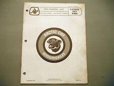 1975 Vintage Arctic Cat Pantera 440 Parts Manual