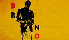 DR NO Original 50 Years Of James Bond Poster Exhibition Poster