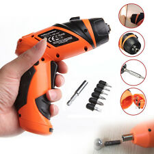 New Portable 6V Screwdriver Electric Drill Battery Operated Cordless Wireless