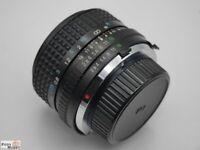 Tokina Weitwinkel RMC 28 mm 1:2,8 für Minolta MD/MC Bajonett (XD7, X-300, XG)