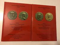 HN SYLLOGE NUMMORUM ROMANORUM ITALIA Firenze Vol. IV,1 e 2 da Galba a Domiziano