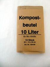 300 St. Biobeutel 200x150x350 mm Bioabfalltüte Biomüllbeutel Biotüte Papiertüte