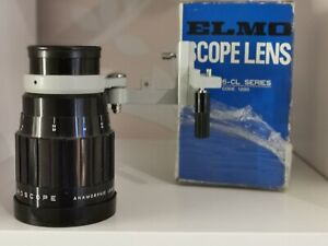 Elmoscope Anamorphic Lens And Holder For Elmo 16cl BOXED