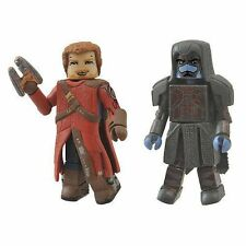 Marvel Minimates Guardians Of The Galaxy Star-Lord and Ronan Action Figure