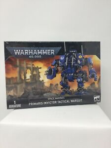 Primaris Invictor Tactical Warsuit Space Marine Warhammer 40K Free Shipping