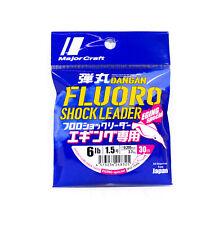 Major Craft Fluorocarbon Shock Leader Línea 30m Eging DFLE-1.5 6lb (8325)