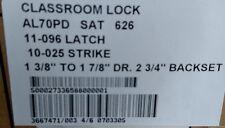 """Schlage AL70PD SAT 626  Series AL Grade 2 CLASSROOM """"C"""" KEYWAY 2 3/4"""" BACKSET"""