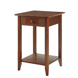 Convenience Concepts American Heritage End Table, Espresso - 7104077-ES