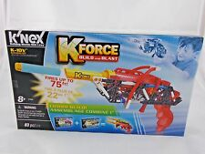 K'Nex K Force Build & Blast 83 pcs NEW K-10V Building Set