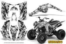 YAMAHA RAPTOR 350 GRAPHICS KIT CREATORX DECALS STICKERS INFERNO W