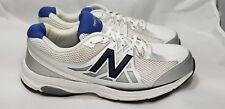 New Balance 847 v2 Men's Walking Running Shoes Sz 9.5 4E MW847WT2 White Blue