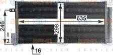 8FC 351 304-724 HELLA Kondensator Klimaanlage