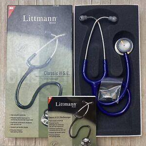 3M Littmann Classic II SE Stethoscope Purple 2209 28in. / 71cm - Excellent