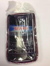 Brand New - Blackberry Curve 8900 - Dark Red  - Hard Case