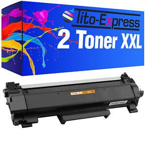 2x Toner XXL für Brother 2310D 2370DN 2510D 2530DW 2550DN 2710DN 140DW TN-2420