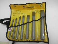 Enderes No. E0523, 7 Piece Cold Chisel Set in Vinyl Tool Roll