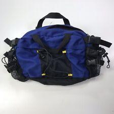 Vintage GAP Tactical Fanny Pack Bag Back Pack Purse Blue Black Great Cond #500