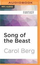 Song of the Beast by Carol Berg (2016, MP3 CD, Unabridged)