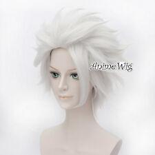 Ursula Wig 30CM Short Silver Gray Halloween Cosplay Wig Heat Resistant Women