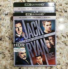 JACK RYAN 5 FILM COLLECTION (4K Ultra HD Blu-ray Disc, No Digital) Like New
