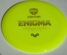Disc Golf Discmania Evolution Neo Plastic Enigma Distance Driver 174g Yellow