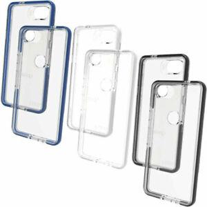 Google Pixel 2 / Google Pixel 2XL Gear4 D30 Piccadilly Phone Case Black / Blue