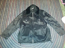 POLICE/SECURITY WINTER/SUMMER JACKET 48L WITH REMOVABLE LINER AND COLLAR BLUE