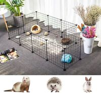 Pet Playpen Indoor Yard Fence Kennel for Guinea Pigs Rabbits Small Animal Cage