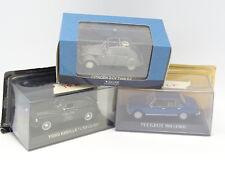 Ixo Presse 1/43 - Lot de 3 : Peugeot 504 - Ford Abeille  - Citroen 2CV AZ