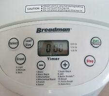 Breadman 1 - 2 Lb Breadmaker Bread Maker Machine - Tr555Lc Crust Control More