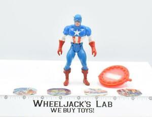Captain America 100% Complete Secret Wars Marvel Super Heroes 1984 Mattel